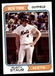 1974 Topps #629  Rusty Staub  Front Thumbnail