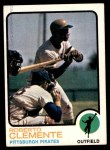 1973 Topps #50  Roberto Clemente  Front Thumbnail