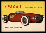 1954 Topps World on Wheels #110   Apache Front Thumbnail