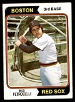 1974 Topps #609  Rico Petrocelli  Front Thumbnail