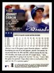 2000 Topps Opening Day #152  Johnny Damon  Back Thumbnail