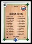 1989 Upper Deck #669   -  Nolan Ryan Houston Astros Team Back Thumbnail
