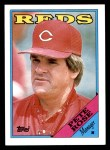 1988 Topps #475  Pete Rose  Front Thumbnail