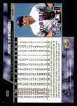 1999 Upper Deck #222  Jose Canseco  Back Thumbnail