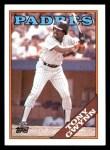 1988 Topps #360  Tony Gwynn  Front Thumbnail