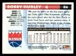 1993 Topps #86  Bobby Hurley  Back Thumbnail