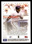2000 Topps Opening Day #161   -  Barry Bonds Magic Moments Back Thumbnail