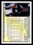 1999 Topps Opening Day #156  Frank Thomas  Back Thumbnail