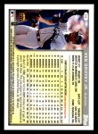 1999 Topps Opening Day #58  Ken Griffey Jr.  Back Thumbnail