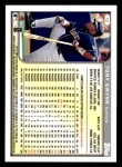 1999 Topps Opening Day #43  Tony Gwynn  Back Thumbnail