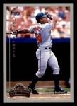 1999 Topps Opening Day #10  Manny Ramirez  Front Thumbnail