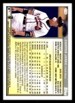 1999 Topps Opening Day #116  Chipper Jones  Back Thumbnail