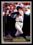 1999 Topps Opening Day #116  Chipper Jones  Front Thumbnail