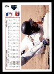 1991 Upper Deck #255  Tony Gwynn  Back Thumbnail