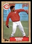 1987 Topps #517  Mario Soto  Front Thumbnail