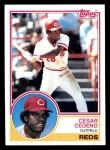 1983 Topps #475  Cesar Cedeno  Front Thumbnail