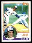1983 Topps #768  Chris Speier  Front Thumbnail