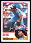 1983 Topps #287  Bobby Brown  Front Thumbnail