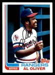 1982 Topps #590  Al Oliver  Front Thumbnail