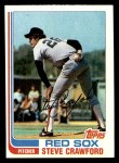 1982 Topps #157  Steve Crawford  Front Thumbnail