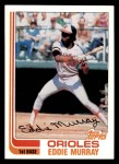 1982 Topps #390  Eddie Murray  Front Thumbnail