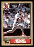 1987 Topps #300  Reggie Jackson  Front Thumbnail