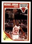 1989 Fleer #21  Michael Jordan  Front Thumbnail