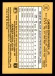 1987 Donruss #89  Cal Ripken Jr.  Back Thumbnail