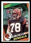 1984 Topps #45  Anthony Munoz  Front Thumbnail