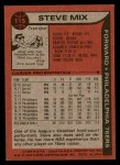 1979 Topps #115  Steve Mix  Back Thumbnail
