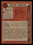 1979 Topps #94  Eddie Jordan  Back Thumbnail