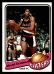 1979 Topps #63  Mychal Thompson  Front Thumbnail