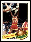 1979 Topps #43  Dan Roundfield  Front Thumbnail