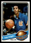 1979 Topps #29  Toby Knight  Front Thumbnail