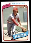 1980 Topps #199  Mike LaCoss  Front Thumbnail