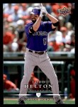 2008 Upper Deck First Edition #205  Todd Helton  Front Thumbnail
