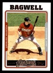2005 Topps #610  Jeff Bagwell  Front Thumbnail