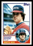 1983 Topps #46  Rich Dotson  Front Thumbnail