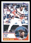 1983 Topps #514  Rudy Law  Front Thumbnail
