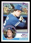 1983 Topps #364  Brett Butler  Front Thumbnail