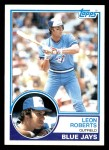 1983 Topps #89  Leon Roberts  Front Thumbnail
