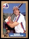1987 Topps #577  Dann Bilardello  Front Thumbnail