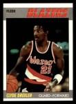 1987 Fleer #30  Clyde Drexler  Front Thumbnail