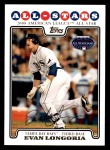 2008 Topps Updates #288   -  Evan Longoria All-Star Front Thumbnail