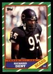 1986 Topps #19  Richard Dent  Front Thumbnail