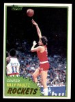 1981 Topps #87 MW Billy Paultz  Front Thumbnail