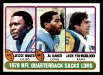 1980 Topps #333   Sacks Leaders Front Thumbnail