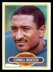 1980 Topps #118  Cornell Webster  Front Thumbnail