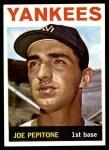 1964 Topps #360  Joe Pepitone  Front Thumbnail