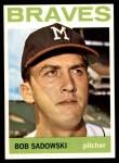 1964 Topps #271  Bob Sadowski  Front Thumbnail